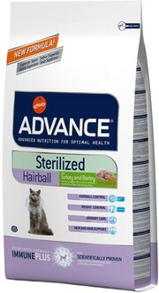Advance Sterilized Hairball Turkey/Barley фото