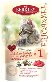 Berkley Kitten Fricassee Chicken/Veal фото