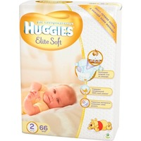 HUGGIES Elite Soft NewBorn 4-7 кг (66)