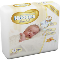HUGGIES Elite Soft NewBorn до 5 кг (84)