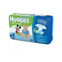 HUGGIES Ultra Comfort Boy 10-16 кг (40)