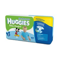 HUGGIES Ultra Comfort Boy 12-22 кг (64)