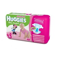 HUGGIES Ultra Comfort Girl 10-16 кг (40)