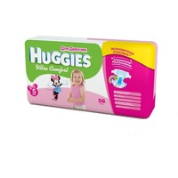 HUGGIES Ultra Comfort Girl 12-22 кг (56)