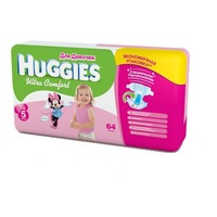 HUGGIES Ultra Comfort Girl 12-22 кг (64)