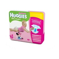HUGGIES Ultra Comfort Girl 8-14 кг (80)