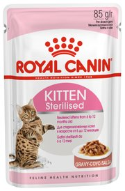 Royal Canin Корм для кошек Kitten Sterilised (в соусе) фото