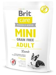 Brit Корм для собак Care Mini Grain Free Adult Lamb фото