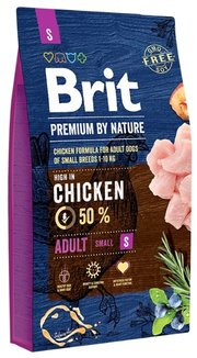 Brit Корм для собак Premium by Nature Adult S фото