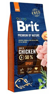 Brit Корм для собак Premium by Nature Sport фото