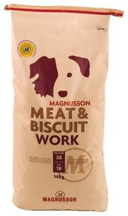 Magnusson Корм для собак Meat & Biscuit Work фото