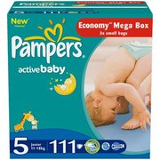 Pampers Active Baby 11-18 кг (111) фото