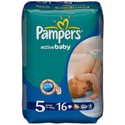 Pampers Active Baby 11-18 кг (16) фото