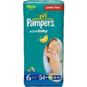 Pampers Active Baby 15+ кг (54) фото