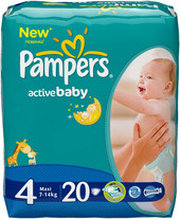 Pampers Active Baby 4 Maxi фото