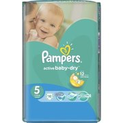 Pampers Active Baby-Dry 11-18 кг (10) фото