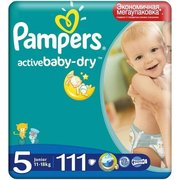 Pampers Active Baby-Dry 11-18 кг (111) фото