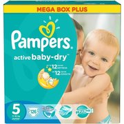 Pampers Active Baby-Dry 11-18 кг (126) фото