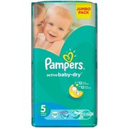 Pampers Active Baby-Dry 11-18 кг (58) фото