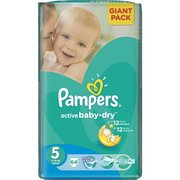 Pampers Active Baby-Dry 11-18 кг (64) фото
