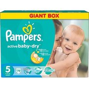 Pampers Active Baby-Dry 11-18 кг (78) фото