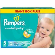 Pampers Active Baby-Dry 11-18 кг (87) фото