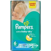 Pampers Active Baby-Dry 15+ кг (54) фото