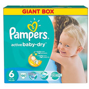 Pampers Active Baby-Dry 15+ кг (66) фото