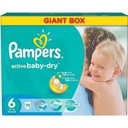Pampers Active Baby-Dry 15+ кг (76) фото