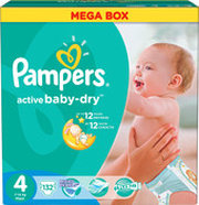 Pampers Active Baby-Dry 4 Maxi фото