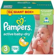 Pampers Active Baby-Dry 5-9 кг (126) фото