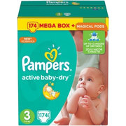 Pampers Active Baby-Dry 5-9 кг (174) фото