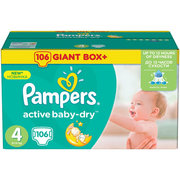 Pampers Active Baby-Dry 8-14 кг (106) фото