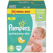 Pampers Active Baby-Dry 8-14 кг (132) фото