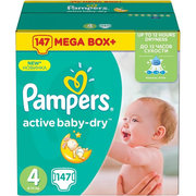 Pampers Active Baby-Dry 8-14 кг (147) фото