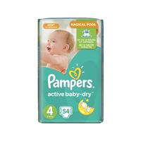 Pampers Active Baby-Dry 8-14 кг (54)