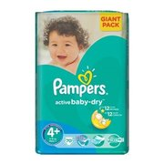 Pampers Active Baby-Dry 9-16 кг (70) фото