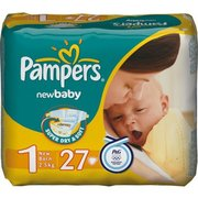 Pampers New Baby 2-5 кг (27) фото
