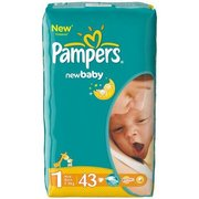 Pampers New Baby Dry 2-5 кг (43) фото