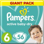 Pampers подгузники Active Baby-Dry 13-18 кг (56 шт) фото