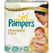 Pampers Premium Care 3-6 кг (72) фото