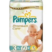 Pampers Premium Care 4-9 кг (60) фото