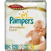 Pampers Premium Care 4-9 кг (80) фото