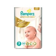 Pampers Premium Care 5-9 кг (60) фото