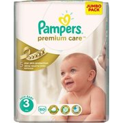 Pampers Premium Care 5-9 кг (80) фото