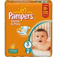 Pampers Sleep & Play 4-9 кг (78)