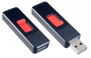 Perfeo USB Flash накопитель 64Gb S03 Black (PF-S03B064) 571214 фото